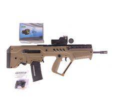 IWI FD16 Tavor Rifle w/ Mepro M21B and Geissele Super Sabra Gen 2 Trigger pack (1) 30rd mag