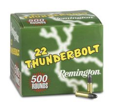Remington Thunderbolt .22 LR 40gr box of 500 rounds