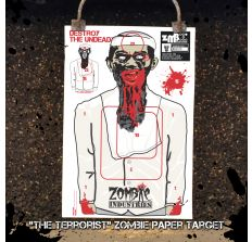 Terrorist Zombie - Colossal 24x36'' Paper Target