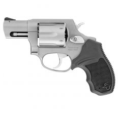 "Taurus 856CH Revolver 38 Special w/ 2"" Barrel, Steel Frame, Stainless Finish, Rubber Grips, Fixed Sights, 6Rd"