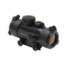 TruGlo Red Dot 1x 30mm Rifle Scope Red/Green Dot Dual Color Single Reticle 5MOA