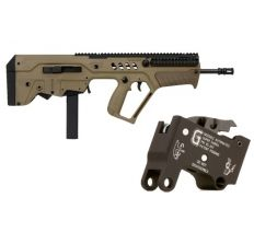 IWI FD17-9 Tavor 9mm Rifle w/ Geissele Sabra G2 Trigger pack also comes with original trigger pack!