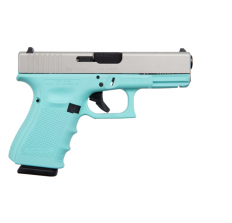 Glock 19 Gen4 9MM 15RD Cerakote Robins Egg Blue SA