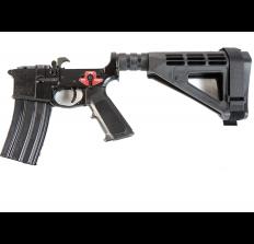 Franklin Armory Complete AR15 Pistol Lower Receiver Binary Trigger SBM4 Brace FACTORY BLEMISH