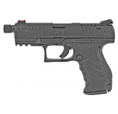 """Walther PPQ M2 Q4 Tactical 9mm 4.6"""" Threaded Barrel 15rd - Black - FREE SHIPPING"""