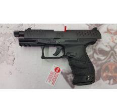 Walther PPQ M2 Navy Pistol 2796082 9mm - 4.6'' THREADED BARREL, Polymer Grip, Black Finish, 15 & 17 Rd mags