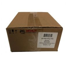 Wolf Ammunition .223 Remington 55gr FMJ Steel Case -1000rd CASE