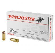 Winchester USA 40SW 180GR FMJ - 50rd Box