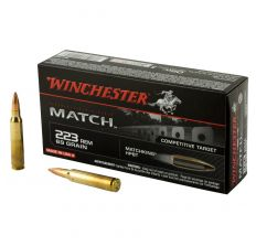 Winchester Match Ammo .223 Rem 69gr Matchking HPBT - 20rd Box