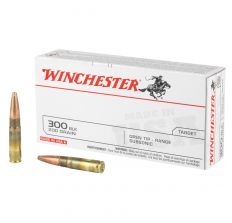 Winchester USA Target Ammo .300 Blackout 200gr  Subsonic Open Tip - 20rd Box