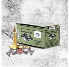 "AMERICAN EAGLE XM855 556nato 62 Grain Weight ""GREEN TIP"" 150PK"
