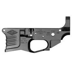 YHM STRIPPED BILLET LOWER RECEIVER FOR AR-15 5.56NATO BLACK YHM-125-BILLET